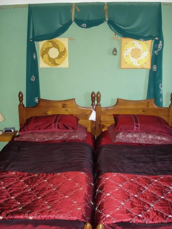 Edwardianskt sovrum, B&B i Minehead, England