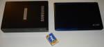 [Bild: Samsung Extern USB DVD och acer Aspire One A110L]