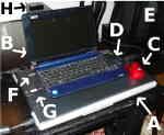 [Bild: Acer Aspire One och CanoScan LIDE 25]