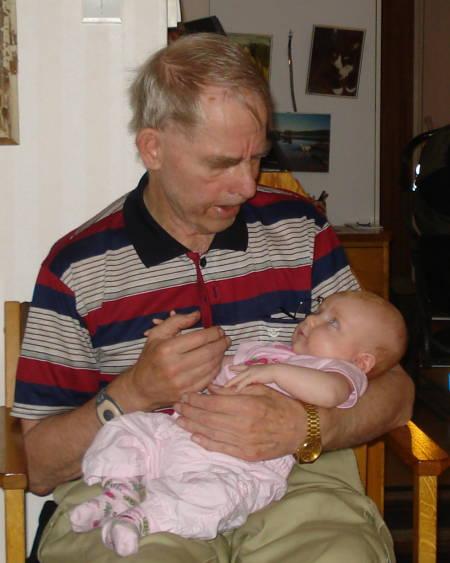 Tova och gammelfarfar