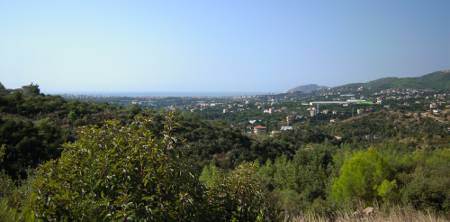 [Bild: Utsikt över Tosmur, Oba, Alanya i Turkiet]