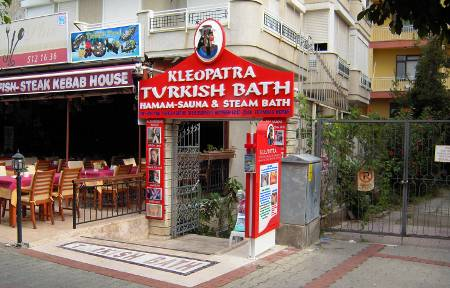 [Bild:]Kleopatra Turkish Bath
