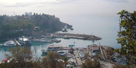 [Bild: Hamnen, Antalya, Turkiet]