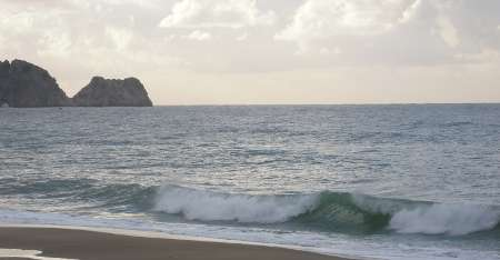 [Bild: Strandvågor, Turkiet, Alanya]