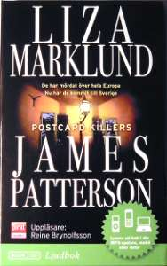 [Bild: 'Postcard Killers James Pattersson', Liza Marklund, ISBN: 978-91-642-2190-2]