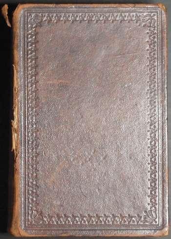 [Bild: Anders Johan Svanström Familjebibel, Omslaget]