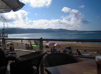 Las Palmas Strandutsikt