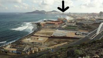 Utsikt över Las Palmas