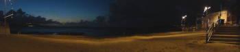 Panoranabild Stranden