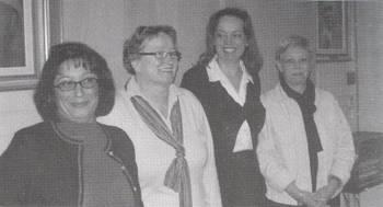 [Bild: Sandra Farhoud, Vivan Nordlund, Jolanta Blomster och Lise-Lott Sjöholm]