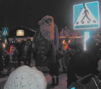 [Bild: Tompteparaden i Brålanda]