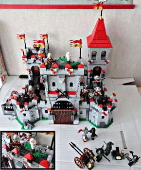 [Bild: LEGO@ Figuren från lucka 22 (7952) i borgen (7946)]