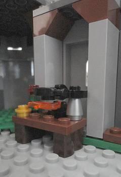 [Bild: LEGO@ Figuren från lucka 23 (7952) i borgen (7946)]