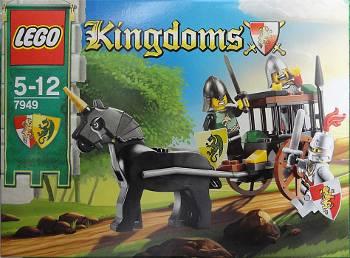 [Bild: GIF-animering av LEGO®-byggandet av Kingdoms fångtransport (7949)]