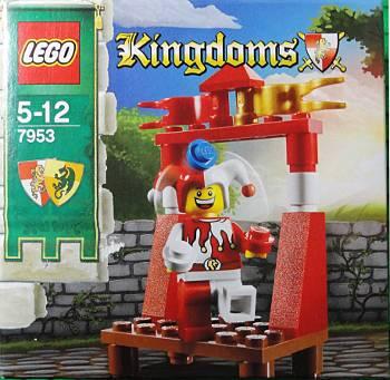 [Bild: GIF-animering av LEGO®-byggandet av Kingdoms jycklare (7953)]