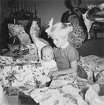 [Bild: Julafton, 1955]