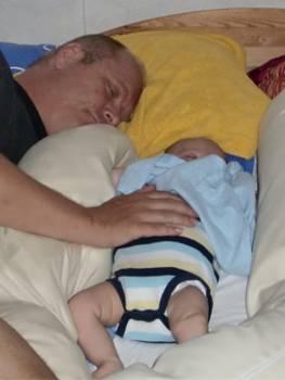 [Bild: Nisse & Sixten vilar]