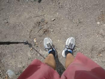 [Bild: Mina fötter]