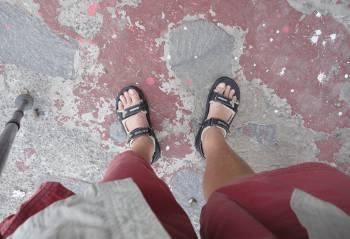 [Bild: Nya sandaler]