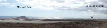 [Bild: Panoramabild Montana Roja och Costa del Silencio]
