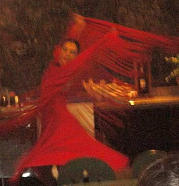 [Bild: Flamencouppvisning, Westaeaven Bay, Silencio, Teneriffa]