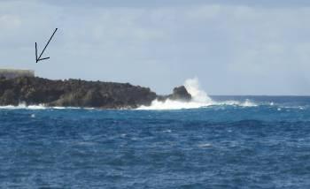 [Bild: Mera vågor vid San Marcos, Teneriffa]