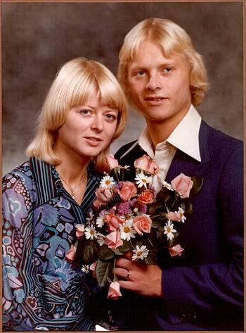 [Bild: Vår Bröllopsdag. Gifta 36 år.]