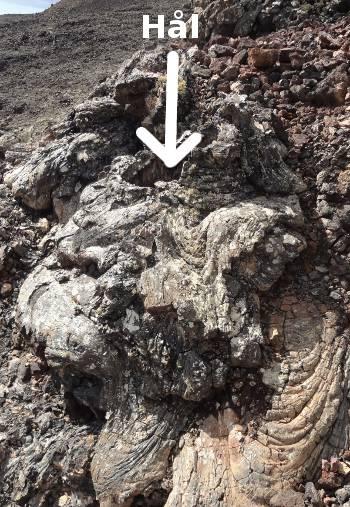 [Bild: Minivulkan, från sidan, Lanzarote]