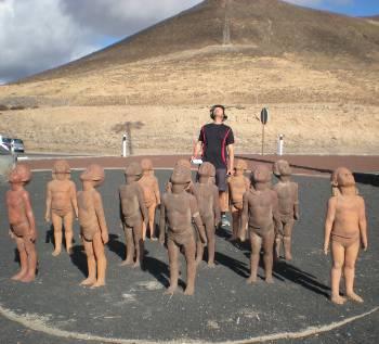 [Bild: Nisse. Terrakottafigurer, Morro Jable Fuerteventura]