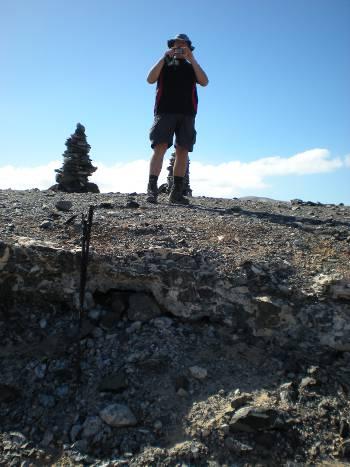 [Bild: Nisse. fotograferar svägerskan, Fuerteventura]