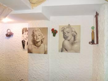 [Bild: Bilder på en vägg i en restaurang. Las Palmas. Gran Canaria.]