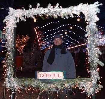 [Bild: Nisses God Jul från Liseberg. Göteborg]