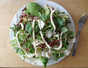 [Bild: Nisses LCHF-lunch]