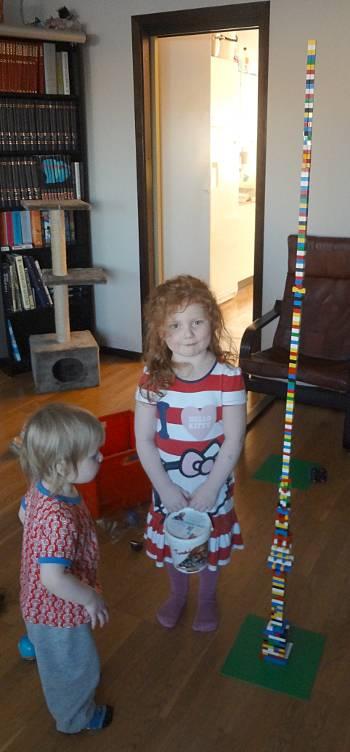 [Bild: Vår världs högsta LEGO-torn]