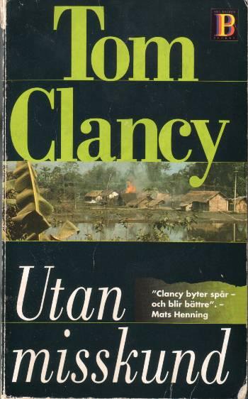 [Bild: Bok; Utan misskund, Tom Clancy, 1997]