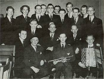 [Bild: Nohab Yrkesskola avslutning 1941]