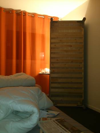 [Bild: Nattbelysningen rum 116 Hotell Hjärtared]