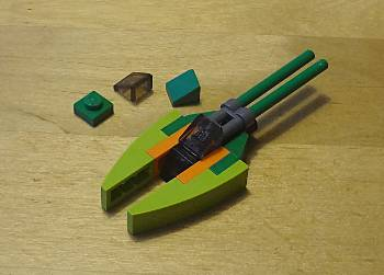 [Bild: LEGO 75023 Star Wars 2013, Koro-2 Exodrive airspeeder]