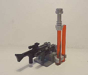 [Bild: LEGO 9509 Star Wars 2012, Guns and Darth Maul's Lightsaber]