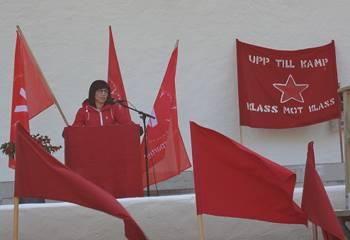 [Bild: Rossana Dinamarca, Riksdagsledamot Vänsterpartiet]