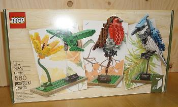 [Bild: LEGO 21301 Fåglar]