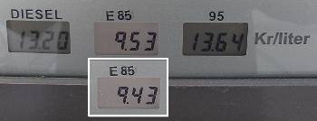 [Bild: Skillnanden E85 & B95]