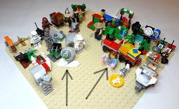 [Bild: LEGO 75097+60099+3811]