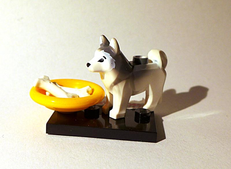 [Bild: LEGO minifugur Hund 16606pb001]