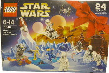 [Bild: LEGO Star Wars Adventskalender 75146]