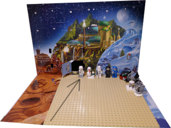 [Bild: Lucka 9: LEGO Star Wars Adventskalender 75146]