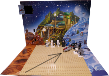 [Bild: Lucka 10: LEGO Star Wars Adventskalender 75146]