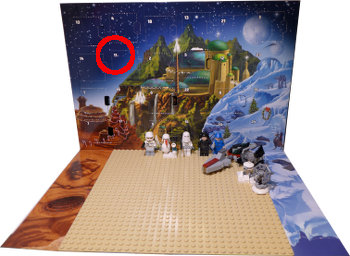 [Bild: Lucka 11: LEGO Star Wars Adventskalender 75146]