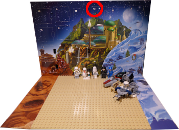 [Bild: Lucka 13: LEGO Star Wars Adventskalender 75146]