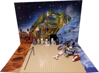 [Bild: Lucka 16: LEGO Star Wars Adventskalender 75146]